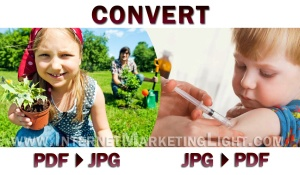 Convert PDF & JPG file formats with a smile